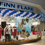 Новый FiNN FLARE открылся пуховой феерией