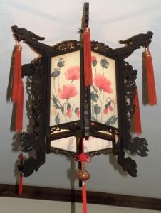 лампа в Чайном клубе