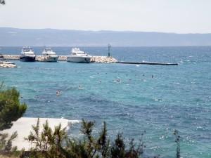 вид на море недалеко от Сплита