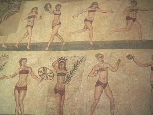 Бикини Мозаика Древний Рим