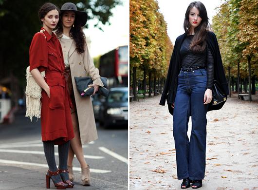 street-style-70 мода стиль 70-х