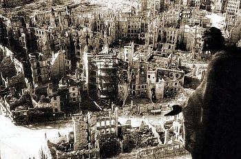 Дрезден після бомбардування